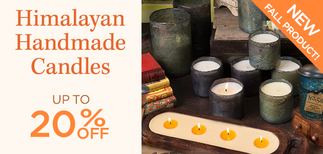 Himalayan Handmade Candles - New Fall Product - Up To 20 Percent OFF