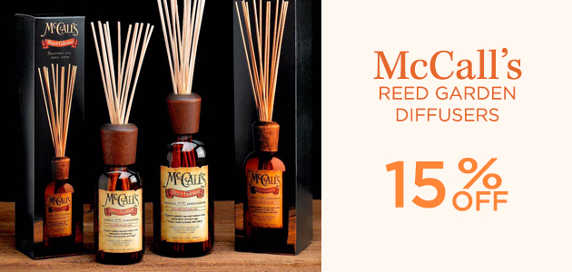 McCalls - Reed Garden Diffusers - 15 Percent OFF
