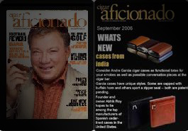 Featured Article in Cigar Aficionado, Sept, 2006