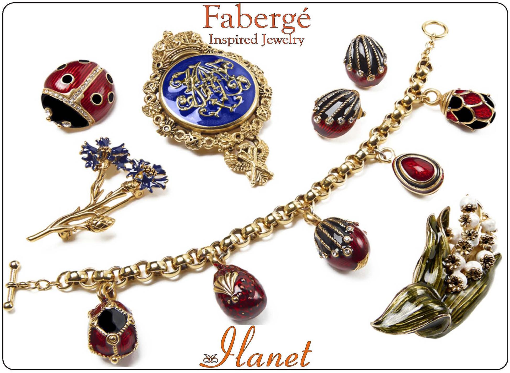 Fabergé inspired Jewels