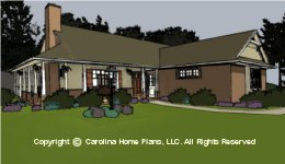 SG-1152 Downsizing Small House Plan