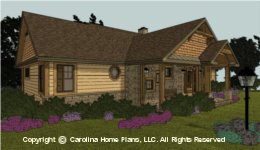 SG-1596 Small Downsize House Plan