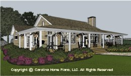 SG-1159 Aging in Place House Plan