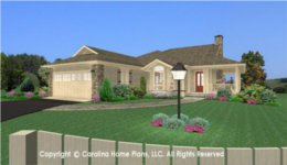 SG-1275 One Story House Plan