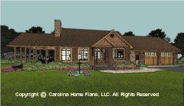 SG-1332 Downsizing Small House Plan
