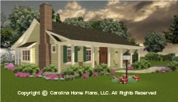 Bs-1266-1574 Best Seller Small House Plan