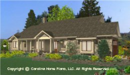 SG-1681 Best Selling Small Houseplan