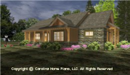 SG-1688 Best Selling Small Houseplan