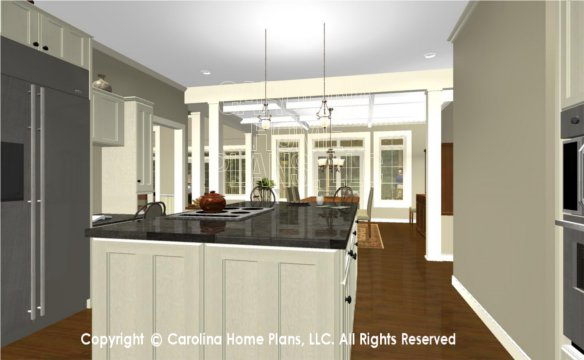 BS-1477-2715 3D Kitchen to Dining