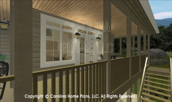 BS-1477-2715 3D Covered Porch