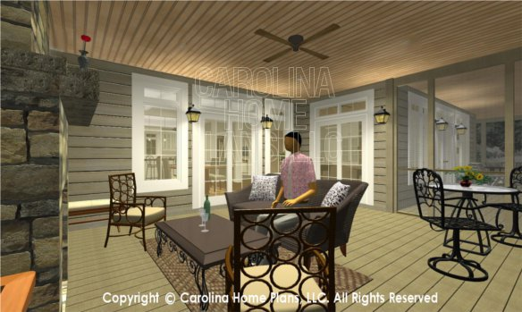 BS-1477-2715 3D Screened Porch to Dining