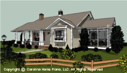 SG-1016  Economical House Plan