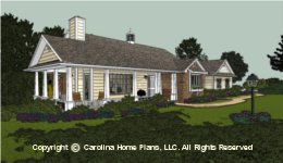 SG-1132  Smart Economical House Plan