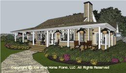 SG-1159  Economical Small House Plan