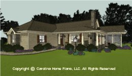 SG-1248  Cost Saving Small House Plan