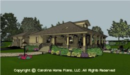 SG-1677  Economical House Plan