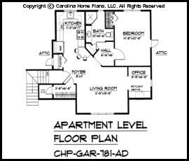 GAR-781 Floor Plan