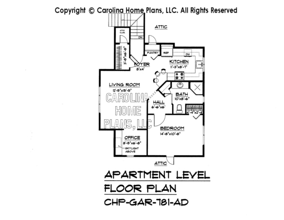 BS-1477-2715 Apartment Floor Plan
