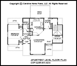 GAR-841 Floor Plan