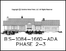 BS-1084-1660 House Plan At A Glance