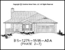 BS-1275-1595 House Plan At A Glance