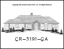 CR-3191 House Plan At A Glance