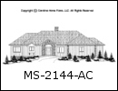 MS-2144 House Plan At A Glance