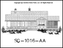 SG-1016 House Plan At A Glance