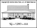 SG-1280 House Plan At A Glance