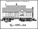 SG-1660 House Plan At A Glance
