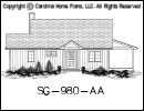SG-980 House Plan At A Glance