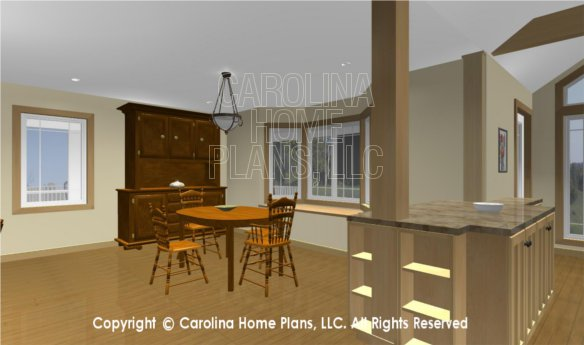 MS-2283-AC 3D Dining and Built-ins