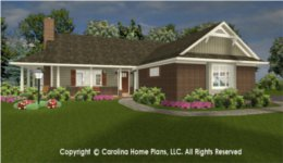 SG-1152 Small Lot House Plan