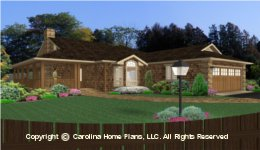 SG-1595 Small Lot Home Plan