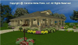 SG-1677 Small Lot House Plan