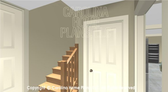 BS-1477-2715 3D Mudroom to Garage Apartment