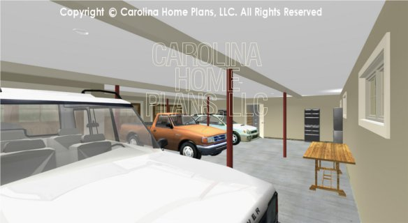 BS-1477-2715 3D Garage to House