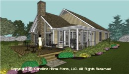 SG-1096  Covered Porch House Plan