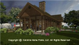 SG-1332  Covered Porch House Plan