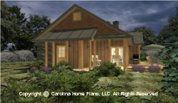 SG-1688 Screened Porch House Plan