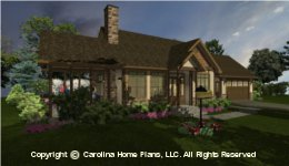 SG-981  Covered Porch House Plan