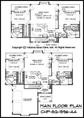 SG-1596 Main Floor Plan