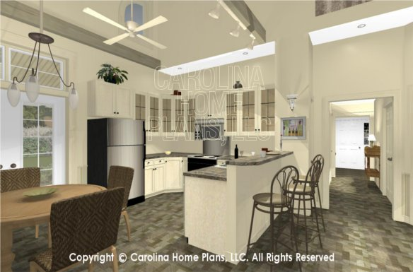 SG-1159 3D Dining to Kitchen