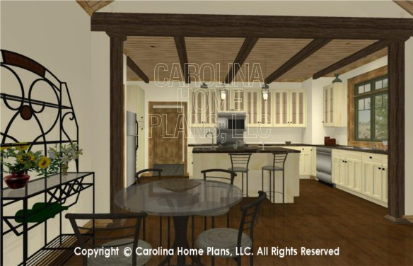 SG-1332 3D Dining to Kitchen