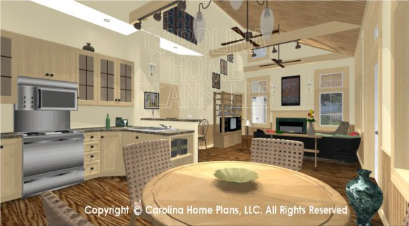 SG-980 3D Dining To Great Room