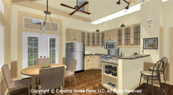 SG-980 3D Dining and Kitchen