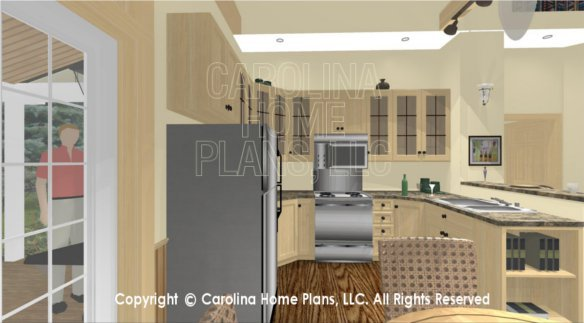 SG-980 3D Kitchen