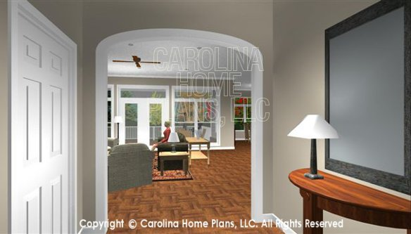 SP-3581 Foyer to Living Room