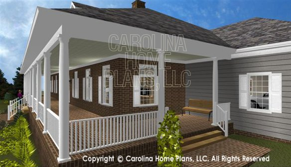 SP-3581 Front Right Porch