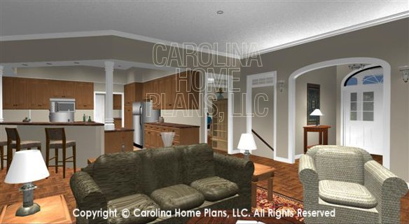 SP-3581 Living Room to Foyer